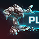 Free Download Sci-Fi Techno Mech Button Nulled