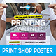 Print Shop Poster / Banner - GraphicRiver Item for Sale