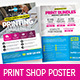 Free Download Print Shop Poster / Flyer Nulled