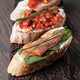 Traditional italian Bruschetta set - PhotoDune Item for Sale