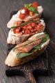 Traditional italian Bruschetta set - PhotoDune Item for Sale