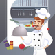 Culinary Concept Illustration Restaurant Business - GraphicRiver Item for Sale