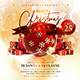 Merry Christmas Party Flyer Template 3 - GraphicRiver Item for Sale