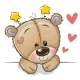 Teddy Bear on a White Background - GraphicRiver Item for Sale