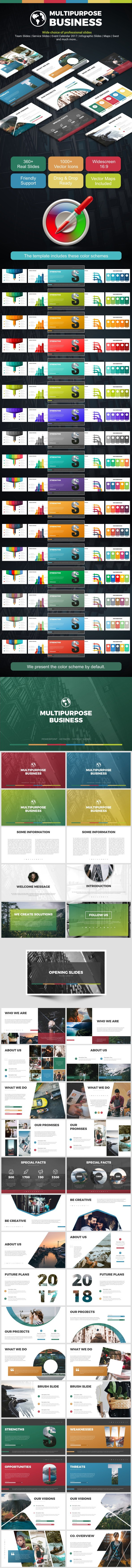 Multipurpose Business - Business Keynote Templates