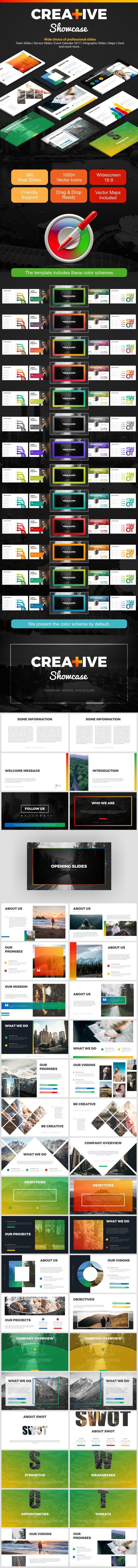 Creative Showcase - Business PowerPoint Templates