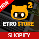EtroStore - Responsive Multipurpose eCommerce Shopify Theme with 23+ Unique Shop Demos Ready - ThemeForest Item for Sale