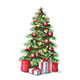 Free Download Christmas Tree with Gifts Nulled