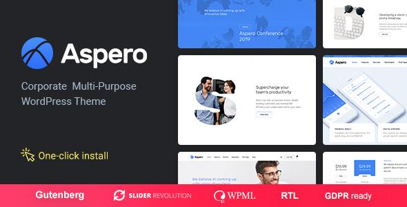 Aspero - Business WordPress Theme - Business Corporate