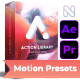 Action Library - Motion Presets Package - VideoHive Item for Sale