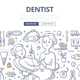 Dentist Doodle Concept - GraphicRiver Item for Sale