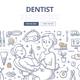 Dentist Doodle Concept - GraphicRiver Item for Sale