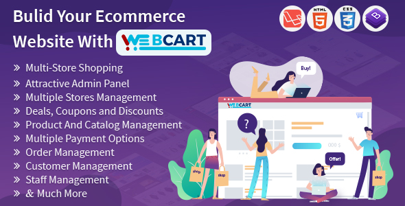 Web-cart -Multi Store eCommerce Shopping Cart Solution - CodeCanyon Item for Sale