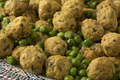 Moroccan style minced chicken balls and green peas - PhotoDune Item for Sale