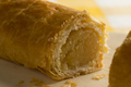 Dutch pastry with almond filling close up - PhotoDune Item for Sale