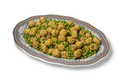 Dish with Moroccan style minced chicken balls and green peas - PhotoDune Item for Sale