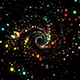 Magic Particles Spiral Flow - VideoHive Item for Sale