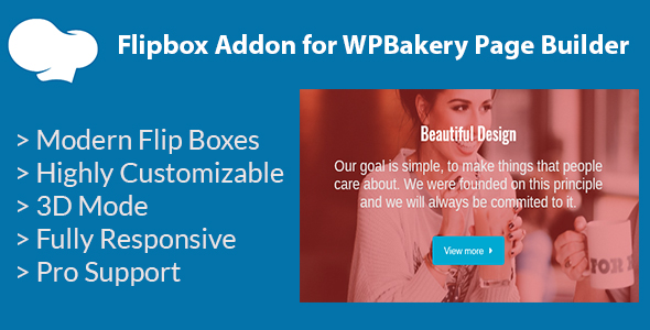 Download] Flipbox Addon for WPBakery Page Builder (formerly Visual