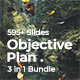 Objective Plan 3 in 1 Pitch Deck Bundle Google Slide Template - GraphicRiver Item for Sale