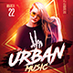 Urban Music Flyer - GraphicRiver Item for Sale