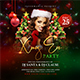 Xmas Eve Party Flyer - GraphicRiver Item for Sale