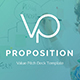 Value Proposition Pitch Deck Powerpoint Template - GraphicRiver Item for Sale