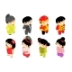 Isometric Chinese Children Characters New - GraphicRiver Item for Sale