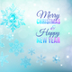 Christmas Ice Snowflake Background - GraphicRiver Item for Sale