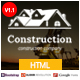 Sunrise Construction & Builder Company Responsive HTML Template - ThemeForest Item for Sale