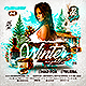 Winter Nights Party Flyer - GraphicRiver Item for Sale