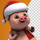 Santa Pig Christmas Dancing (2-Pack) - VideoHive Item for Sale
