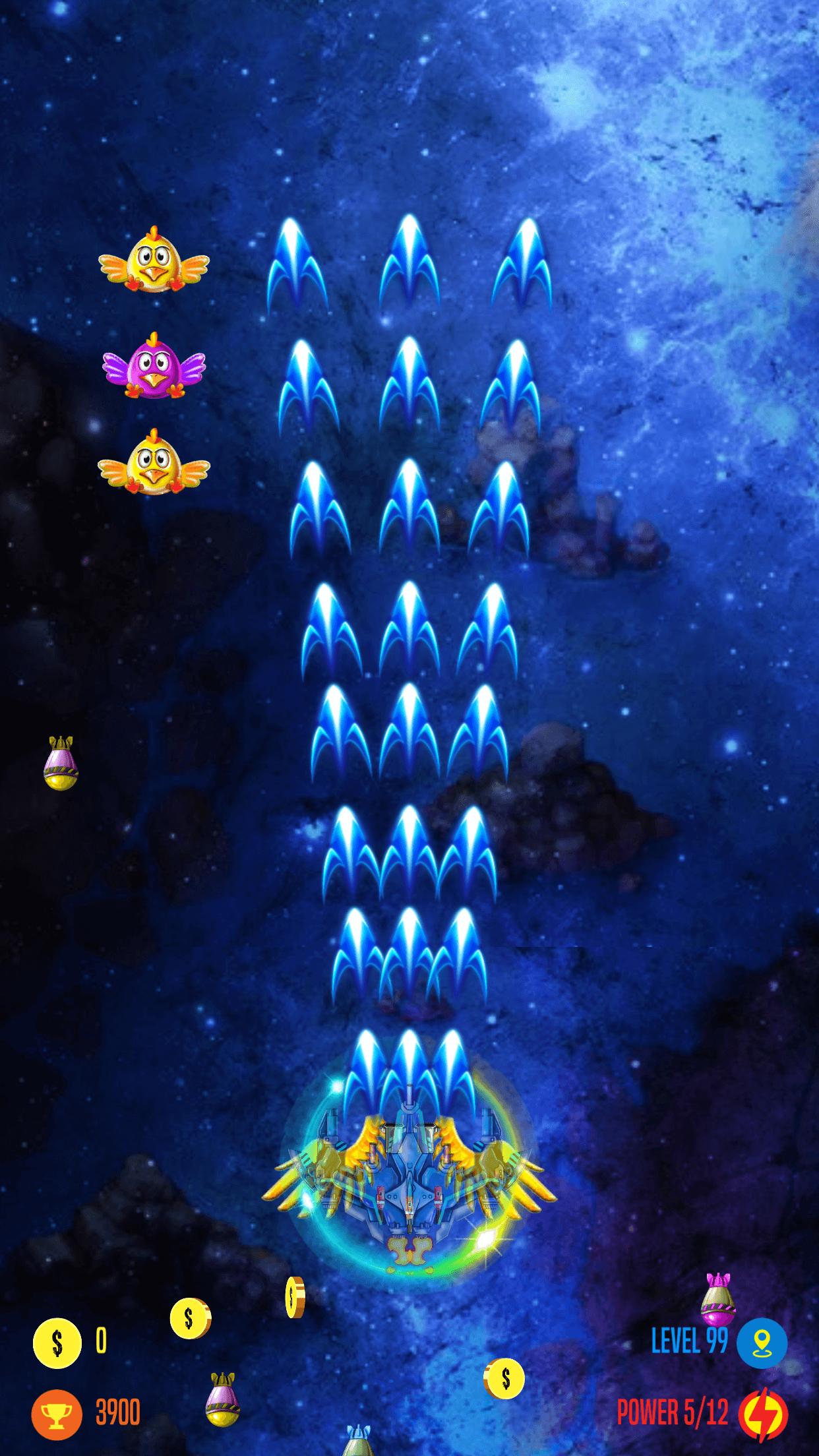 Strike Galaxy Attack- Unity Template