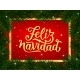 Merry Christmas Calligraphy Text in Spanish - GraphicRiver Item for Sale