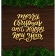 Merry Christmas and Happy New Year Card Design - GraphicRiver Item for Sale