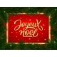 Merry Christmas Calligraphy Text in French - GraphicRiver Item for Sale