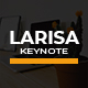 Larisa Creative Keynote - GraphicRiver Item for Sale