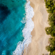 Aerial view of Kelingking Beach - PhotoDune Item for Sale