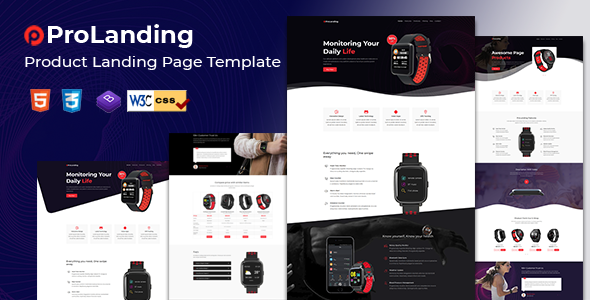 Prolanding - Product Landing Page by HtmlLover