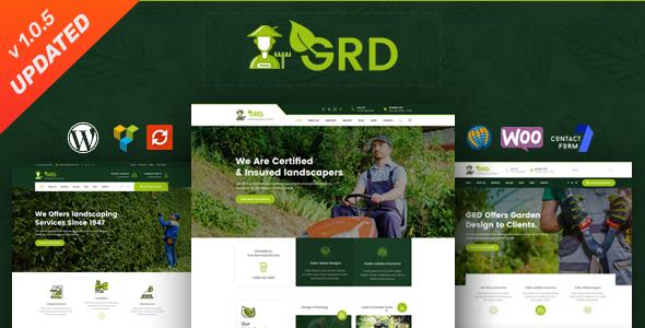 GRD - Gardening, Lawn & Landscaping WordPress Theme - Business Corporate