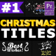 Christmas Titles And Transitions - VideoHive Item for Sale