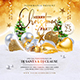 Merry Christmas Party Flyer Template 4 - GraphicRiver Item for Sale