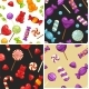 Free Download Sweet Candies in Bright Colors Nulled