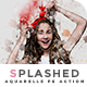 Free Download Splashed - Aquarelle PS Action Nulled