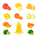 Vector Citrus Set - GraphicRiver Item for Sale