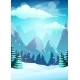 Vector Bright Illustration the Cartoon Winter - GraphicRiver Item for Sale