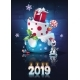 Free Download Festive Set - the Bright Illustration New Year Nulled
