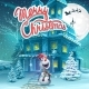 Vector Cartoon Merry Christmas Backround - GraphicRiver Item for Sale