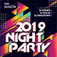 2019 Night Party Flyer - GraphicRiver Item for Sale
