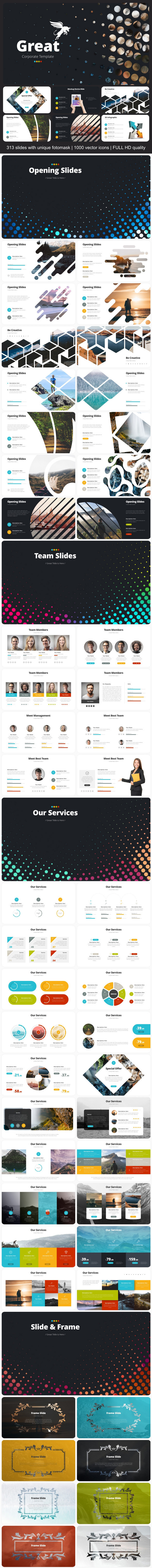 Great Corporate - Business Keynote Templates