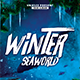 Winter Seaworld Flyer - GraphicRiver Item for Sale